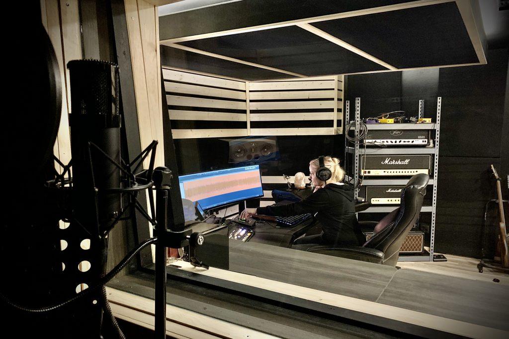 recording studio voiceover production
